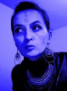 Milena Bianga – tu jako Komandor Floty Międzygalaktycznej
